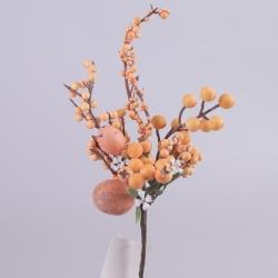 композиция с 2-я яйцами и шариками на палочке (оранжевая)