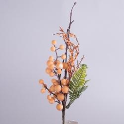 композиция с шариками на палочке (оранжевая)
