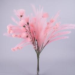 10 декоративных веток розовых