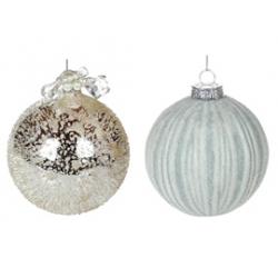 Елочные шары, наборы шаров (стекло)<br>