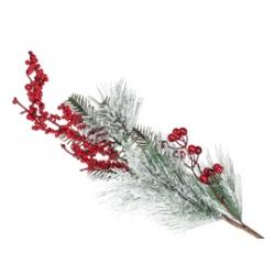 Новогодние цветы, ветки<br>