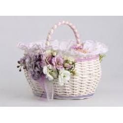 Плетеные корзины, кашпо для цветов, ящики