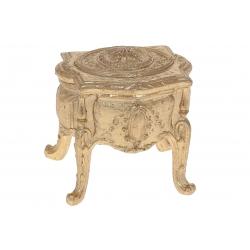 Шкатулка Антикварный столик, 10,5см, цвет - золото