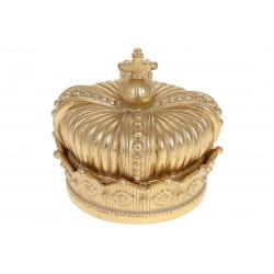 Шкатулка Корона, 11,5см, цвет - золото