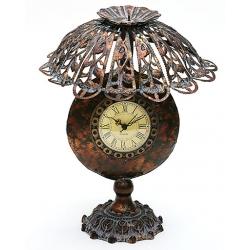 Часы настольные в форме лампы с абажуром