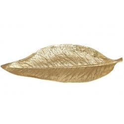 Декоратвное блюдо Лист, 60см, цвет - золотой