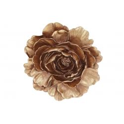Подвесной декор Цветок 20см, цвет - золото