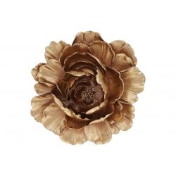 Подвесной декор Цветок 25см, цвет - золото