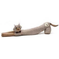 Стоппер для двери длинный Кошка 69см
