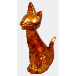 Декоративная статуэтка керамическая Кошка, 38см