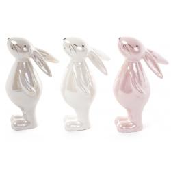 Декоративная керамическая фигурка Кролик, 3 вида, 14см
