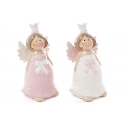 Декоративная керамическая фигурка Ангел, 2 вида, 13см
