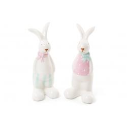 Декоративная керамическая фигурка Кролик, 2 вида, 12см