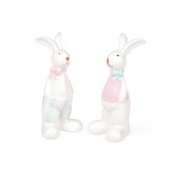 Декоративная керамическая фигурка Кролик, 2 вида, 15см