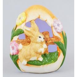 Декоративная статуэтка 13.2см с подсветкой Кролик