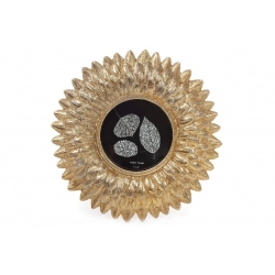 Рамка для фото Астра, 20см, цвет - состаренное золото