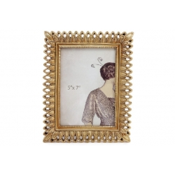 Рамка для фото Глория, 24см, цвет - золото
