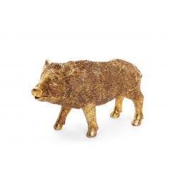 Декоративная статуэтка Wild boar 11.5см, цвет - золото