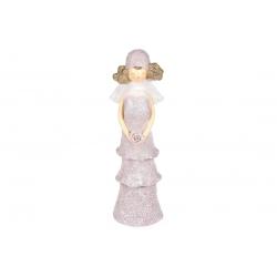 Декоративная статуэтка Дама с розой, 31см
