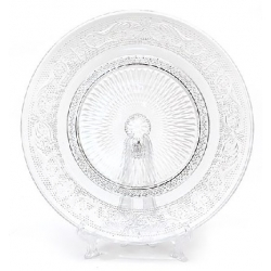 Тарелка десертная стеклянная 20см