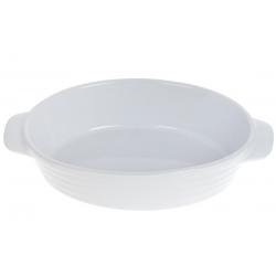 Овальная форма для выпечки с ручками, цвет - белый