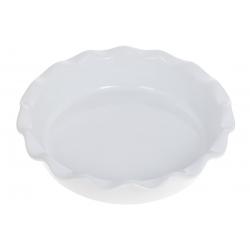 Круглая форма для выпечки 26см, цвет - белый