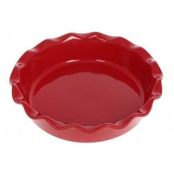 Круглая форма для выпечки 26см, цвет - красный