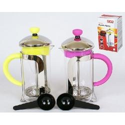 Заварочный чайник с пластиковой ложкой 350мл, 2 вида