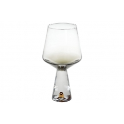 Бокал для белого вина Chic, 400мл, цвет - дымчатый серый