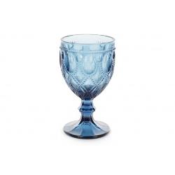 Бокал для вина , цвет - синий, 300мл