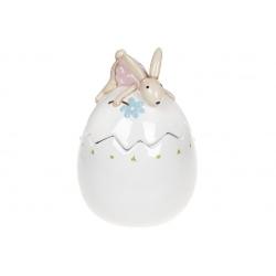 Банка в форме яйца Милая Зайка, 500мл