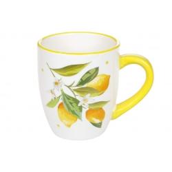 Кружка керамическая 360мл Сочные лимоны