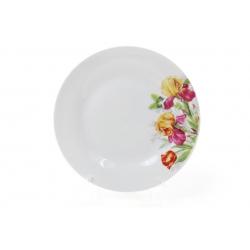 Десертная фарфоровая тарелка 19см Ирисы
