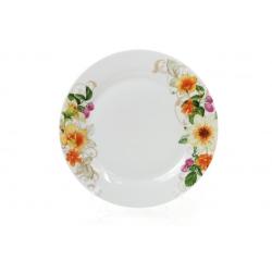 Обеденная фарфоровая тарелка 27см Летняя фантазия