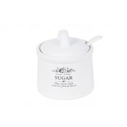 Сахарница керамическая 350мл Sweet Home