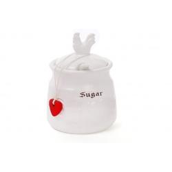 Сахарница керамическая 300мл с объемным рисунком Тоскана