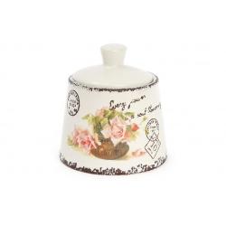 Сахарница керамическая 200мл Провансальская Роза