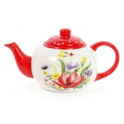 Чайник керамический 1.25л Акварель