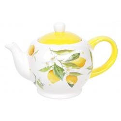 Чайник керамический 1л Сочные лимоны