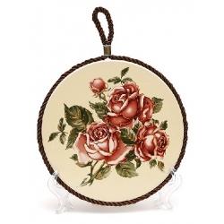Подставка под горячее 16см Корейская роза