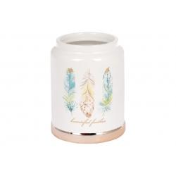 Подставка керамическая для кухонных принадлежностей Плюмаж, 13см