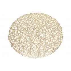 Подтарельник круглый 38см Модерн, цвет - золото