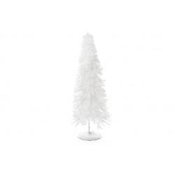 Декоративная елка 40см, цвет - белый