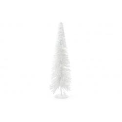 Декоративная елка 60см, цвет - белый