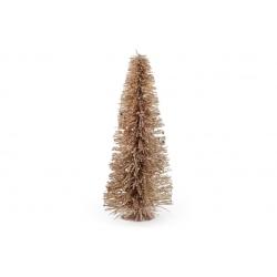 Декоративная елка 40см, цвет - золото