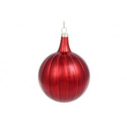 Елочное украшение 10*13см, цвет - глубокий красный