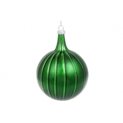 Елочное украшение 10*13см, цвет - изумрудный зелёный