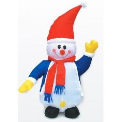 Надувающаяся фигура Снеговик, 120см