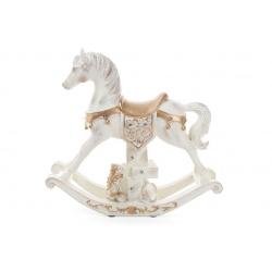 Декоративная статуэтка Лошадь с LED-подсветкой и музыкой 35см на батарейках (3хАА)