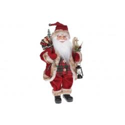 Мягкая игрушка Санта 41см, цвет - красный